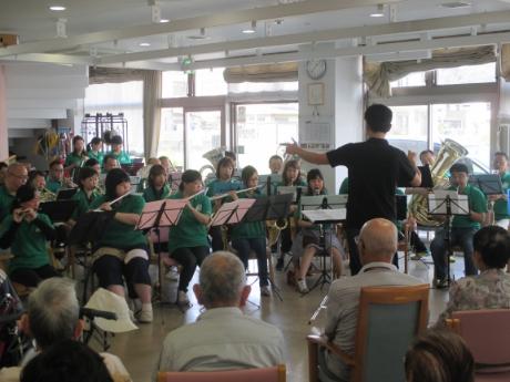 吹奏楽団の演奏会